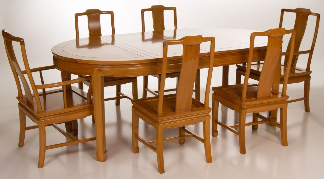 Ming Style Chinese Dining Set